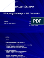 VBA programiranje u MS Outlook-u