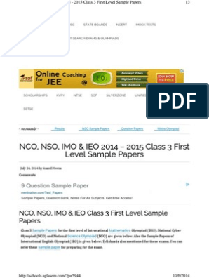 Nco | Behavior Modification | Learning