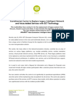 22072014 Major Northern European Carrier Chooses ECT e Final