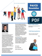 PASCD Newsletter