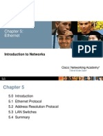 Chapter 5 - Ethernet