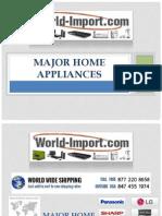 220 Volt Major Appliances - World-Import.com