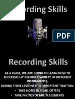 recording task small file