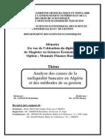 Aftis hamza-analyse des causes de la surliquidité bancaire en algérie.pdf