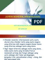 4 Sistem Moneter Internasional