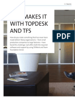 Isah makes it with TOPdesk and TFS