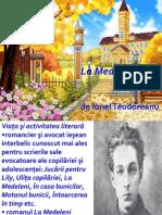 Ionel teodoreanu la medeleni online dating