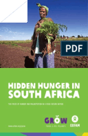 Hidden Hunger in South Africa: The faces of hunger and malnutrition in a food-secure nation