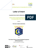 Carbon-financing agreement
