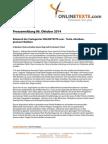 Pressemitteilung 06.10.2014 Relaunch der Textagentur ONLINETEXTE.com - Texte schreiben, preiswert bleiben.pdf