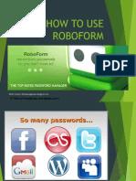 How to Use Roboform