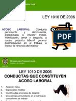 Ley de Acoso Laboral 1010 de 2006