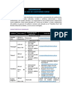 Lineamientos Auditorios COP20