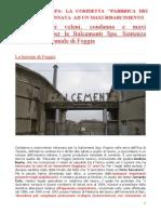 Italcementi Spa. La Cosidetta Fabbrica Dei Veleni Condannata Ad Un Maxi Risarcimento Per La Morte Di Un Giovane Operaio Doc