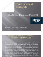 Evolution of Electronic Payment