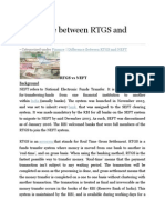 Difference Between RTGS and NEFT