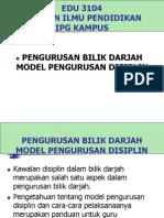 Model Pengurusan Disiplin