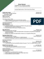 Remmer Resume Fall 2014