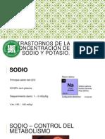 Trastornos de la concentración de Sodio y Potasioe.pptx