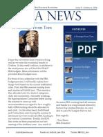 SBA Newsletter 5 - 10/6/14
