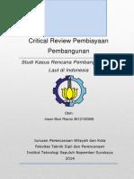 Critical Review Pembiayaan Pembangunan.docx