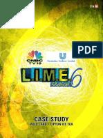 HUL Lime6 Case Study