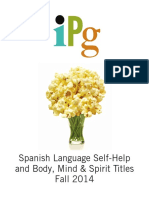 Fall 2014 IPG Self-Help and Body Mind Spirit Titles in Spanish