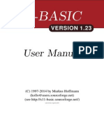 X11 Basic Manual