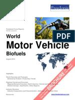 World Motor Vehicle Biofuels
