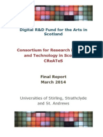 Digital R&D Fund for the Arts in Scotland