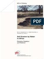 Soil Erosion by Water in Africa