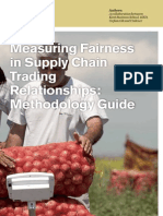 Measuring Fairness in Supply Chain Trading Relationships