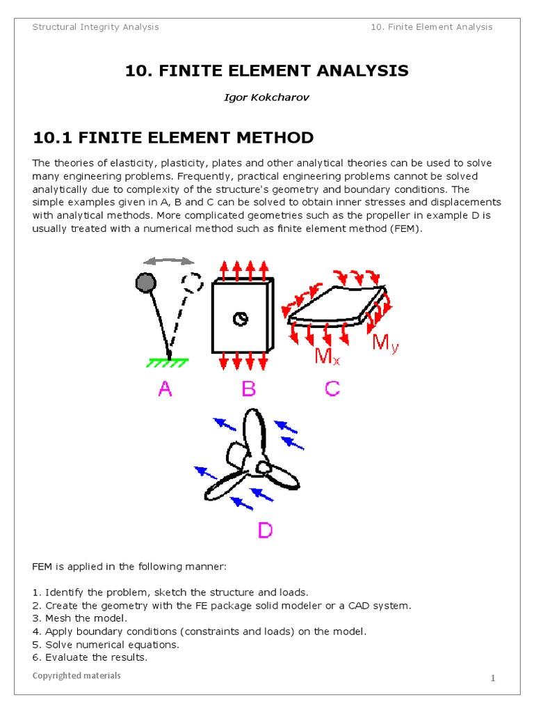FINITE ELEMENT ANALYSIS pdf   Finite Element Method   Fluid Dynamics