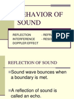 Behavior of Sound (Archi)