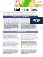 Coventry Law Centre Troubled Families report (Exective Summary)