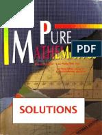 Pure Maths - Lee Peng - SOLUTIONS