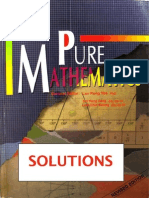 Pure Maths - Lee Peng - SOLUTIONS
