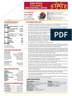 Iowa State-Toledo game notes