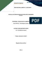 TECNOLOGIA DE LACTEOS caso 1.docx