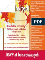 Benedictine University Fall Open House