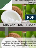 PPT Oleokimia Minyak Dan Lemak
