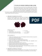 kerajinan dari bahan organik dan anorganik