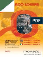 Brochure Monaco Loisirs