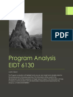 program analysis eidt 6130