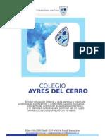 proyecto educativo 2014 - Colegio Ayres del Cerro