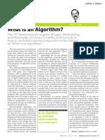 What is an algorithm.PDF