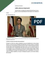 Entrevista de El Espectador a Adriana Cisneros, previo a la 5ta Conferencia de Endeavor Colombia