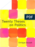 Dussel- Twenty Theses on Politics