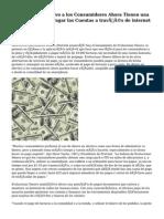 De dinero en efectivo a los Consumidores Ahora Tienen una Manera Mejor de Pagar las Cuentas a través de internet y Móviles