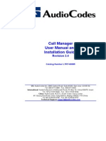 Call Manager User Manual and Installation Guide Revision 2.4